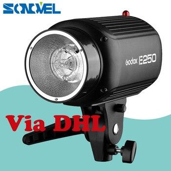 Godox E250 Pro Photography Studio Strobe Photo Flash Light 250W Studio Flashgun Photographic accessories 220V speedlite flash