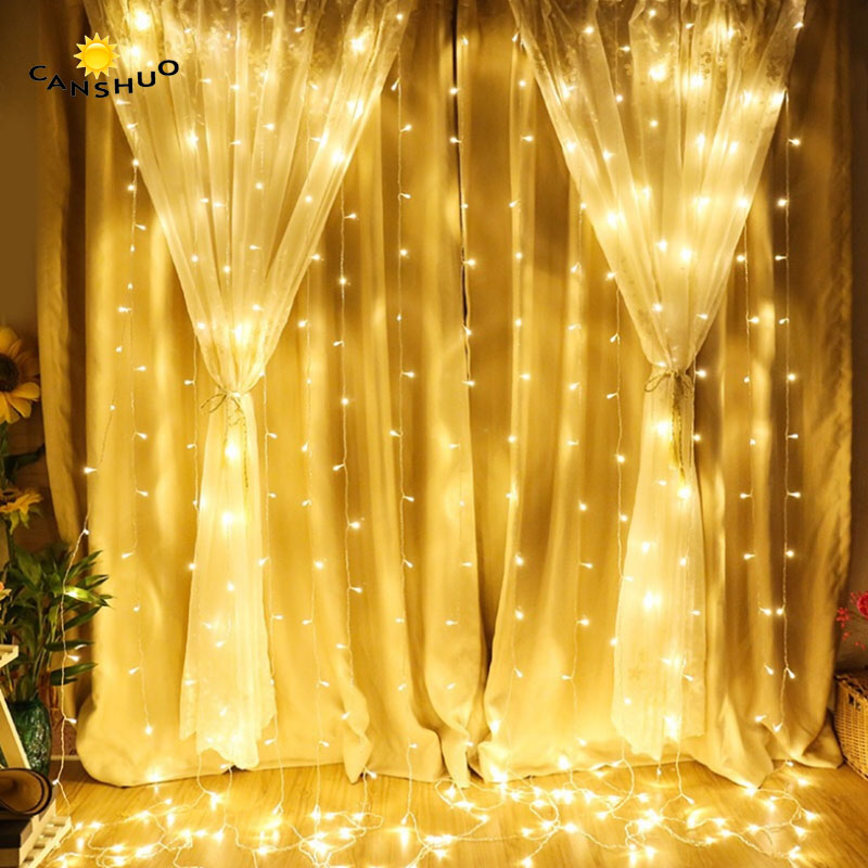 Snowflake 8 LED Christmas Window Display 8x9 Lights Bright White Xmas Decoration