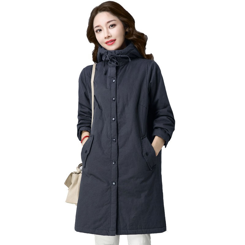 Winter Jacket Women Coat Warm Thick Autumn Winter Long Jacket Coat   Parka   Hooded Chaqueta Mujer Plus Size Winter Coat Women Q998