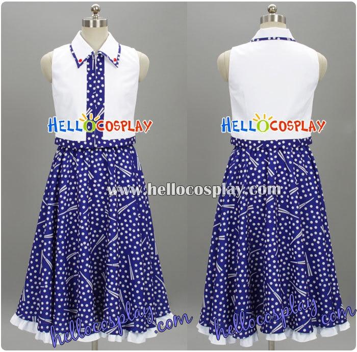 Touhou Project Cosplay Sanae Kotiya Dress H008