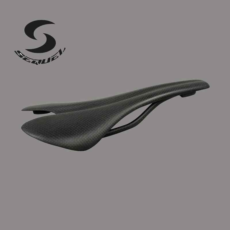 Two kinds of carbon bike saddle Road bicycle or MTB bike parts 3k or UD seat bike accessories newest raceface next sl road bike ud full carbon fibre saddle spider web mountain bicycle front seat mat mtb parts free shipping