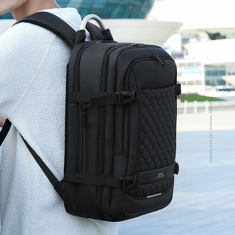 Mens Business Computer Casual Shoulder Large Capacity Waterproof Outdoor Travel Handbag