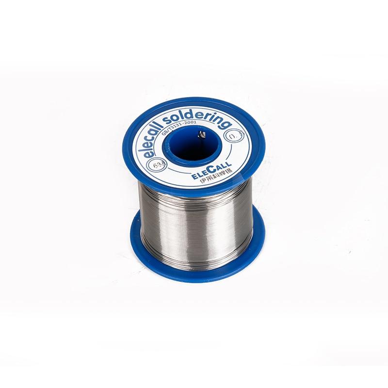 63/37 Tin 0.8mm 450g Rosin Roll Flux Reel Lead Melt Core Soldering solder wire lead free enamelled reel tin silver цена