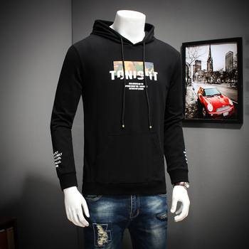 plus 10xl 8xl 6xl 5xl Long Sleeve T Shirt Men Cotton Loose Fit T-Shirt Man Hooded Solid Color tee shirt homme tshirt men casual