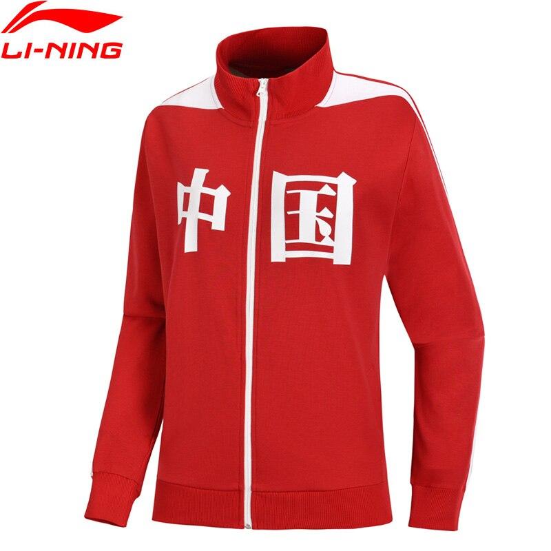 Li-ning Unisex Die Trend Pullover China Druck Hoodie 82% Baumwolle 18% Polyester Futter Komfort Sport Mantel Awdn734 Mww1419 Reich Und PräChtig Hemden
