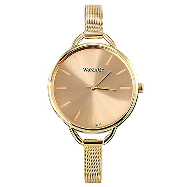 2018 New trendy candy color wrist watches women Luxury WOMAGE Brand Simple desig