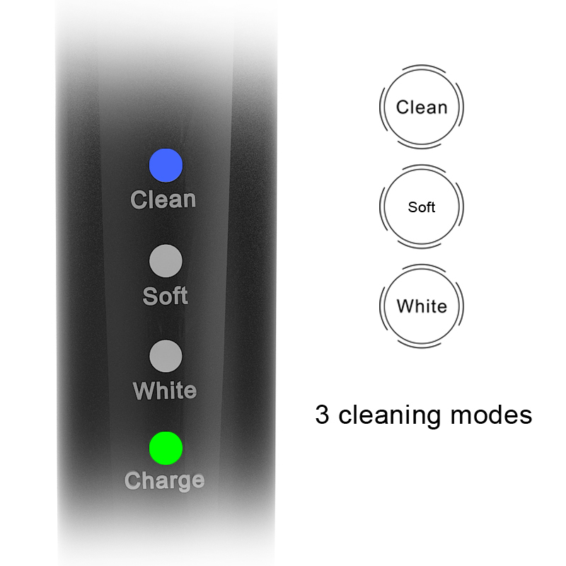 2 pcs Electric toothbrush Sarmocare M100 IPX7 Waterproof Grade rechargeable battery travel protable toothbrush sonic toothbrush