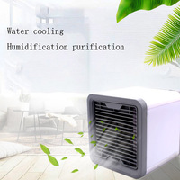 Portable Mini Air Cooler Arctic Air Conditioner Conditioning Light Humidifier Purifies Air Cooling Fan for Home Office