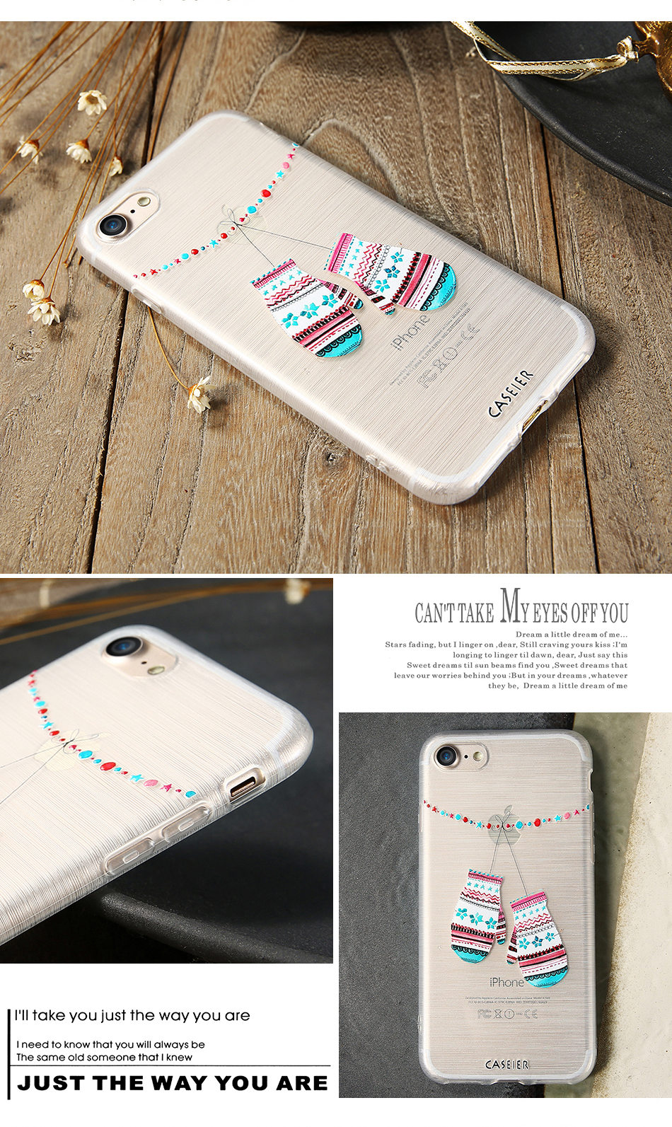 HTB18SIpOpXXXXbbXXXXq6xXFXXXz - Christmas Phone Case For iPhone 7 6 6S Plus iPhone 5S SE 5 Cases For Samsung Galaxy S6 S7 Edge Cute Cover Accessories PTC 286
