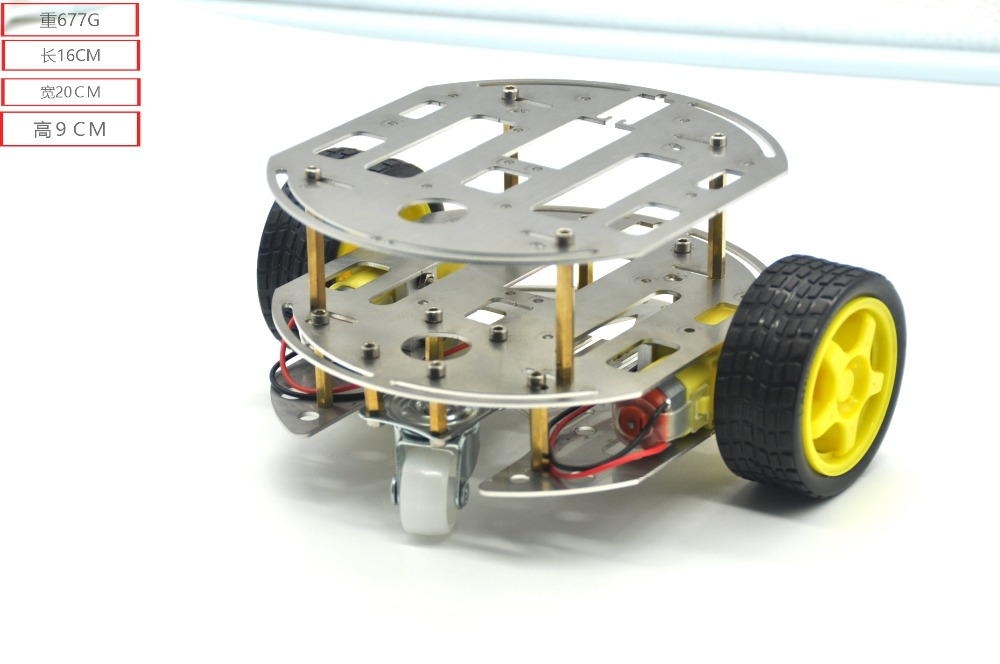 Smart Car Chis 2wd Robot Tracing Strong Magnetic Motor Rt 4 Avoidance With For Arduino Metal