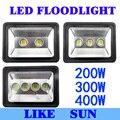 AC85-265V 200W 300W 400W LED Floodlight Outdoor LED Flood light lamp waterproof LED Tunnel light lamp street lapms