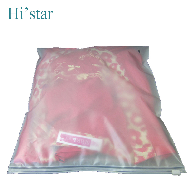 35*45cm 20pcs/bag,Zipper top screen printing recyclable suit packaging bags plastic shopping bags ...