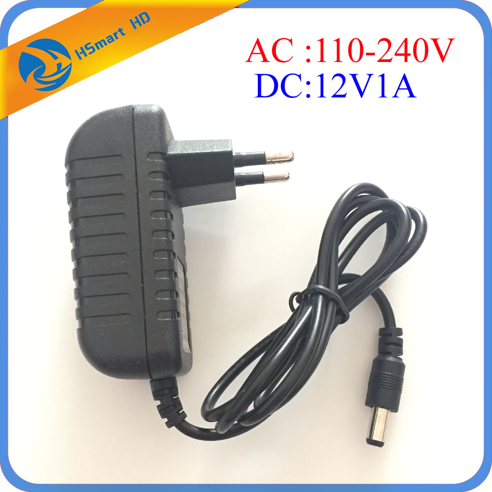 Security UK / US / EU / AU 12 Volt 1 Amp Power Supply Power Adapter For CCTV IR Infrared Night Vision Lamp DVR Systems Camera