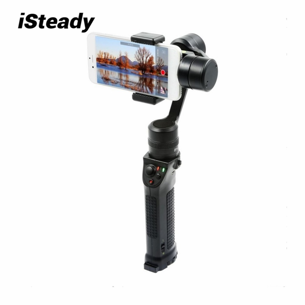 iSteady X3-pro 3-Axis Handheld Smartphone Stabilizer Multi-function Gimbal Built-in Bluetooth For 3.5-6 inches Smart Phones yuneec q500 typhoon quadcopter handheld cgo steadygrip gimbal black