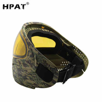 SPUNKY Airsoft Paintball Mask with Blue Dye I4 Thermal Lens