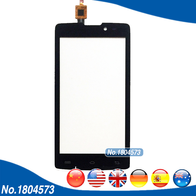 IQ 4402 Touch Panel Front Glass Len For IQ4402 ERA Style 1 Touch Screen Digtiizer Replacement 1PC/Lot