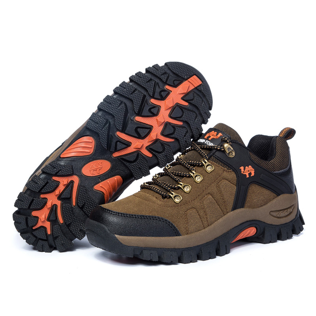Waterproof Hiking Shoes For Men Women Mountain Climbing Shoes Couple Outdoor Trekking Shoes Breathable Hiking Hunting Boots