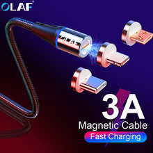 1M LED Magnetic Cable amp Micro USB Cable amp USB Type C Cable Nylon Braided Type-C Magnet Charger Cable for iPhone Samsung S10 S9 cheap olaf Apple iPhones Motorola TOSHIBA panasonic Blackberry Nokia SONY Palm 2 in 1 3 in 1 5V 3A Micro USB Cable Type-c for Apple iPhone