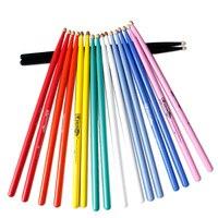 HUM Drumsticks 5A Drum Stick Drum Hammer Multicolor USA Walnut Matte Paint