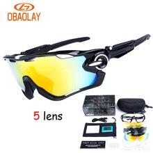 Polarized Cycling Eyewear Sunglasses Mountain Road Bike Cycling Glasses Outdoor Sports Windproof Bike Glasses Bicycle Equipment