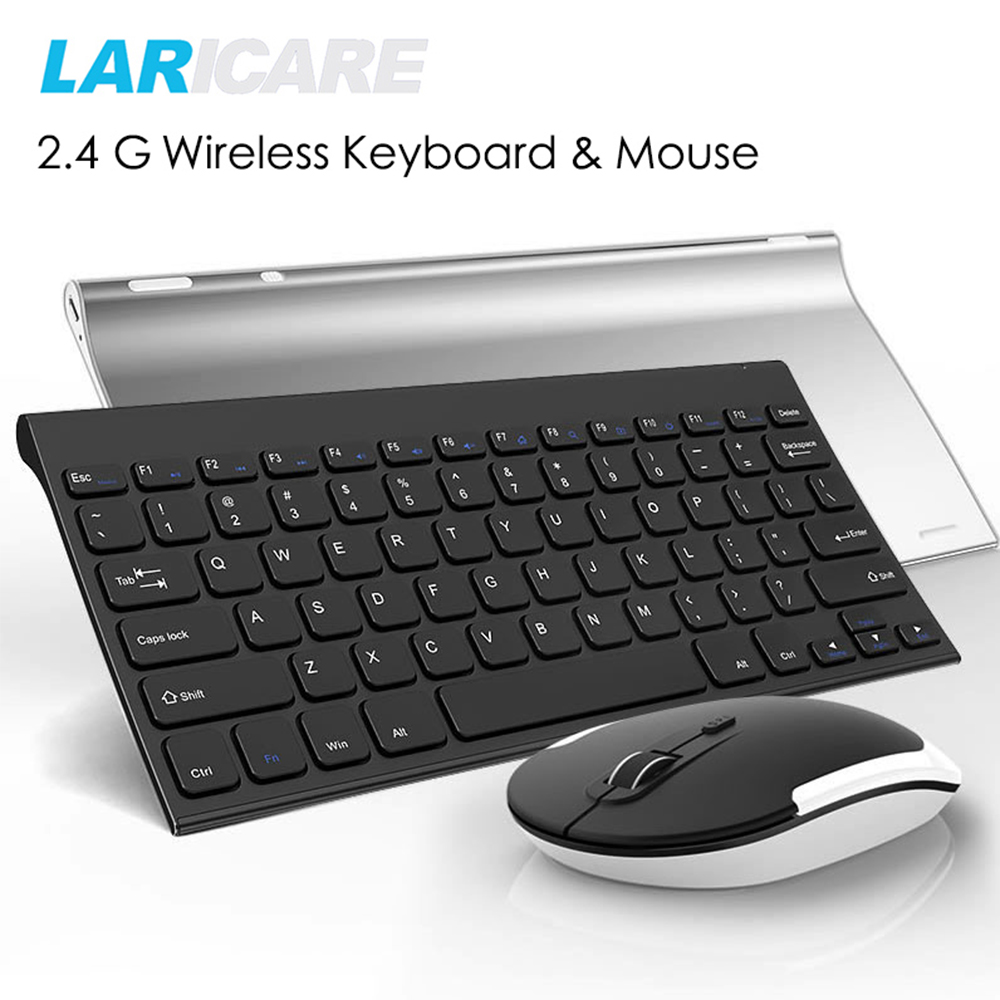 laricare wireless keyboard and mouse set for office and work very easy to use connect by