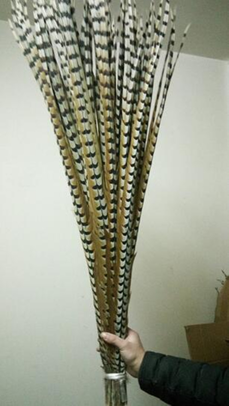 wholesale 50pcs rare natural copper chicken feathers long 32 36 inches 80 90 cm decoration diy. Black Bedroom Furniture Sets. Home Design Ideas