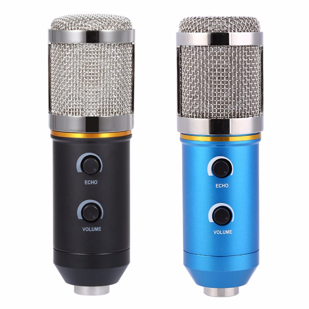 Amiable Tgeth Mk - F200fl Wired Audio Sound Recording Condenser Microphone Shock Mount Holder Clip With Locking Knob 3.5mm Aux Jack We Have Won Praise From Customers