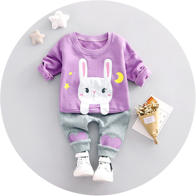 Baby Girls Clothes 2017 Brand Sprin Kids Clothes Set T-shirt+pants Suit Clothing Set Cartoon Printed Clothes Newborn Sport Suits fashion shoes men new arrival genuine leather men casual shoes soft loafers plus size handmade driving shoes moccasins