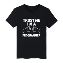 LUCKYFRIDAYF Trust Me I'm A Programming Language C Java PHP Logo Short Sleeve Cotton