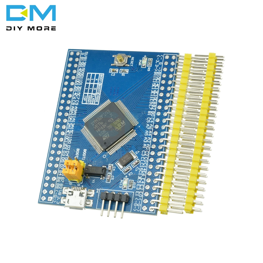 NEW STM32F103VET6 ARM STM32 Minimum System Development Board Cortex-m3 IIC EEPROM RTC Crystal SDIO Card Holder LED MC-306 DIYNEW STM32F103VET6 ARM STM32 Minimum System Development Board Cortex-m3 IIC EEPROM RTC Crystal SDIO Card Holder LED MC-306 DIY