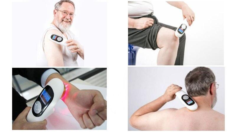 Nouveau Corps Douleur et Arthrose Cervicale Froid Laser Médical Physiothérapie Dispositif