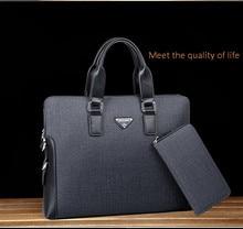 2016 New Hot Men's Fashion Handbags European and American Business Shoulder Diagonal OL Casual Men's Briefcase Computer Bag