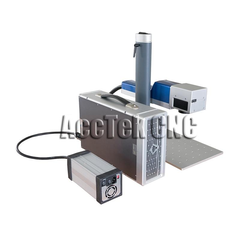 Desktop Fiber Laser Cnc Machine 20W Portable Laser Marking Machine