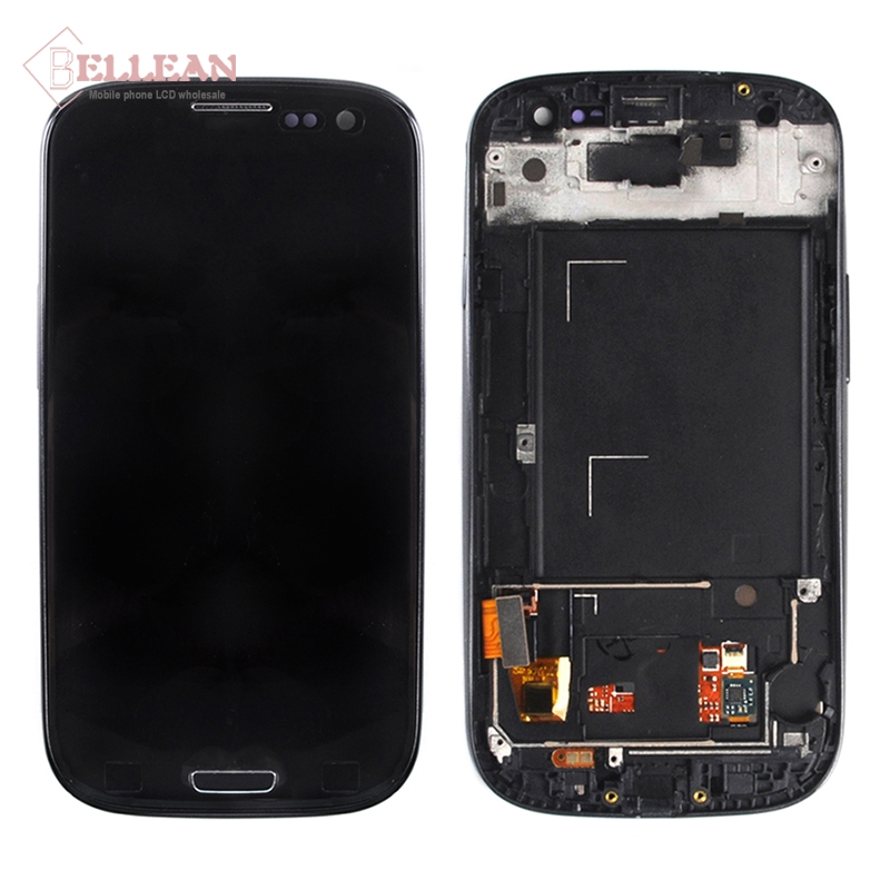 Image 4 - Catteny i9301 i9305 Lcd Display For Samsung Galaxy S3 Lcd i9300 Display With Touch Screen Digitizer Assembly+Frame+Homebutton-in Mobile Phone Touch Panel from Cellphones & Telecommunications