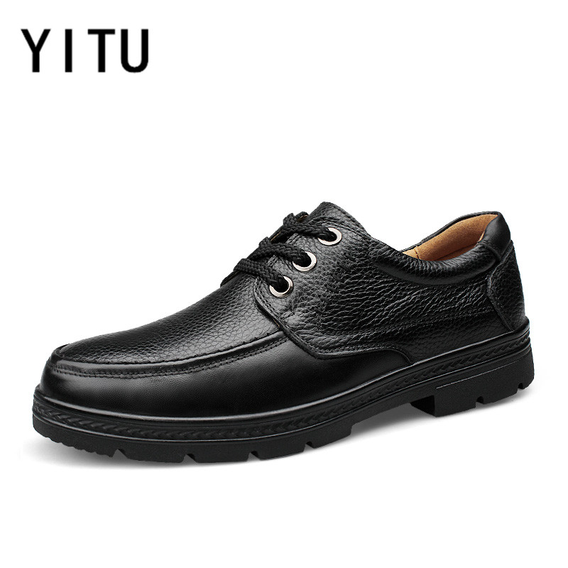 YITU Autumn Winter Big Size Men Walking Shoes 2017 Newest Trend High Quality Breathable Anti-skid Light Sneakers Freeshipping mulinsen newest 2017 autumn winter men