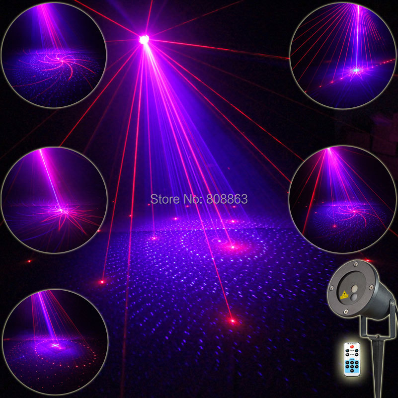 Outdoor Waterproof R&B Laser 8 Big Patterns Projector Remote DJ Holiday House Party Tree Landscape Wall Garden Effect Light T57 mary pope osborne magic tree house collection books 1 8