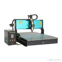 JFT Industrial Best CNC Milling Machine 3 Axis 1500W Water Cooled Spindle Engraving Machines with Parallel Port 6090
