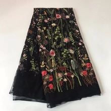 Fabric 2018 Embroidered Nigerian Laces Fabric