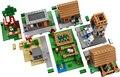 LEPIN 1600+pcs Model building kits compatible  my worlds MineCraft Village blocks Educational toys hobbies for children