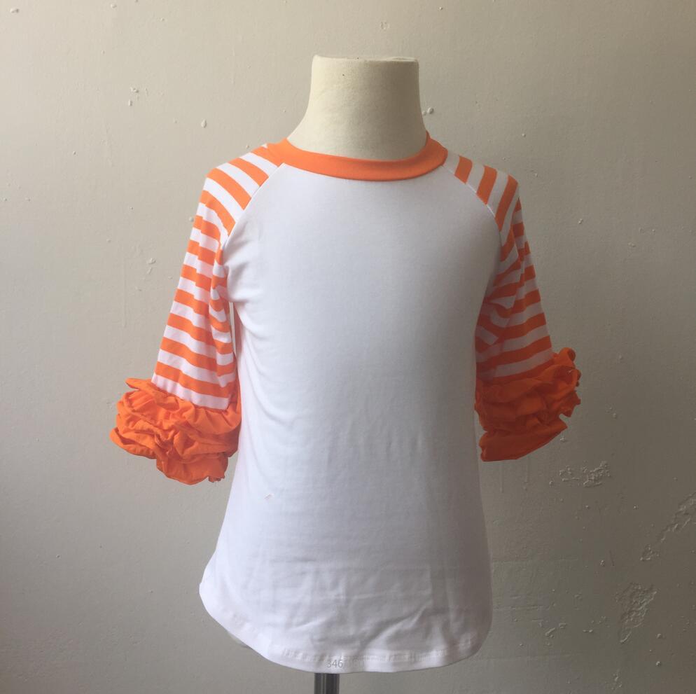 Shirt design for baby girl - Unique Baby Girl Stripe Images Little Fashion Custom Design Long Sleeve Shirt Pernickrty Hot Sale Toddler Girls Icing Raglan