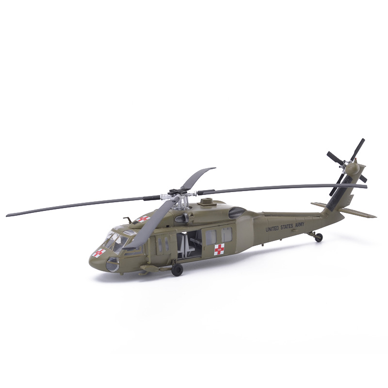 цены Easy Model UH60A US Medevac Helicopter Models 1/72 Scale Diecast Finished Model Toy For Collect