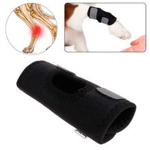Pet Knee Pad Injury Protector Dog Puppy Support Brace Leg Anti Lick Recover Hock Twist Fixed Joint Wound Trainings