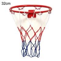 32 センチメートル/12.6 インチプロサイズウォールマウントバスケットボールフープリング目標ネットリム dunk 撮影屋外ホット販売 2020 basquetebol