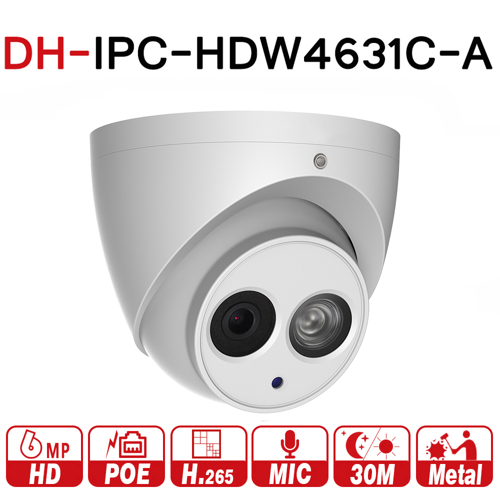 DH IPC-HDW4631C-A Original 6MP...