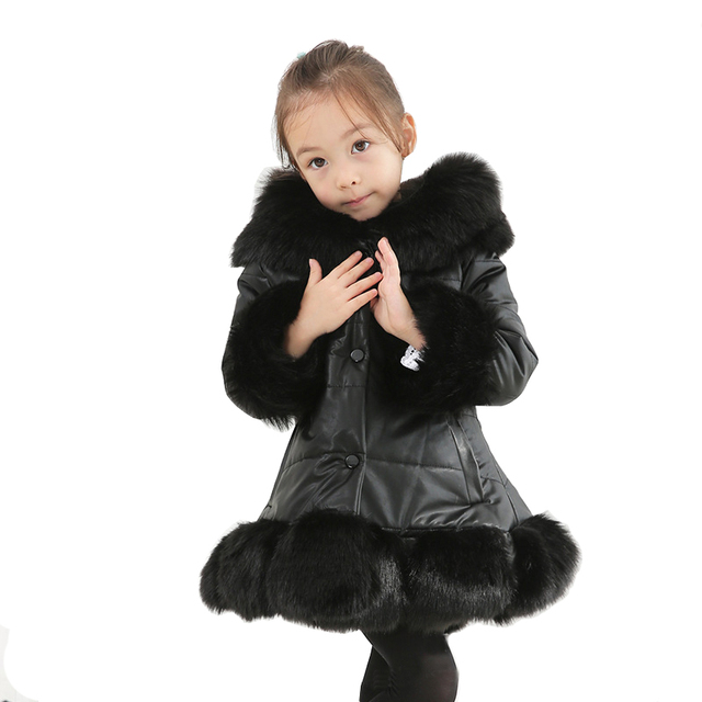 52a92b8a8 2018 winter thick warm little girls clothing 3 14 yrs baby girl ...
