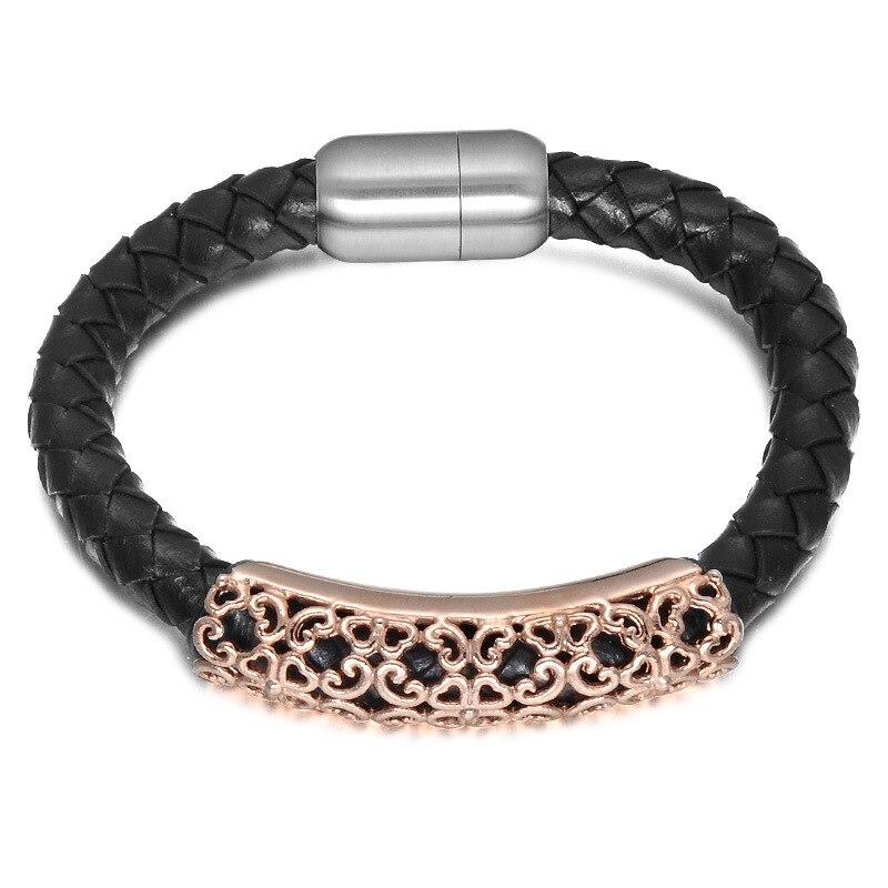 Горячие распродажа, модная обувь Jewelry кожа проволокой баланс браслет из нержавеющей стали мощность браслет ip gold покрытие браслет