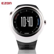 EZON завод прямые мужские электронные часы интеллектуальные Bluetooth шагомер, чтобы напомнить спортом бег часы Черный + Серебро S2