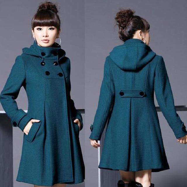 2017 femmes automne hiver solide manteau avec amovible. Black Bedroom Furniture Sets. Home Design Ideas