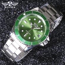 Winner men Watches Top Brand Luxury Men Military Wristwatches Full Steel Men Sports Automatic Watch Waterproof Relogio Masculin