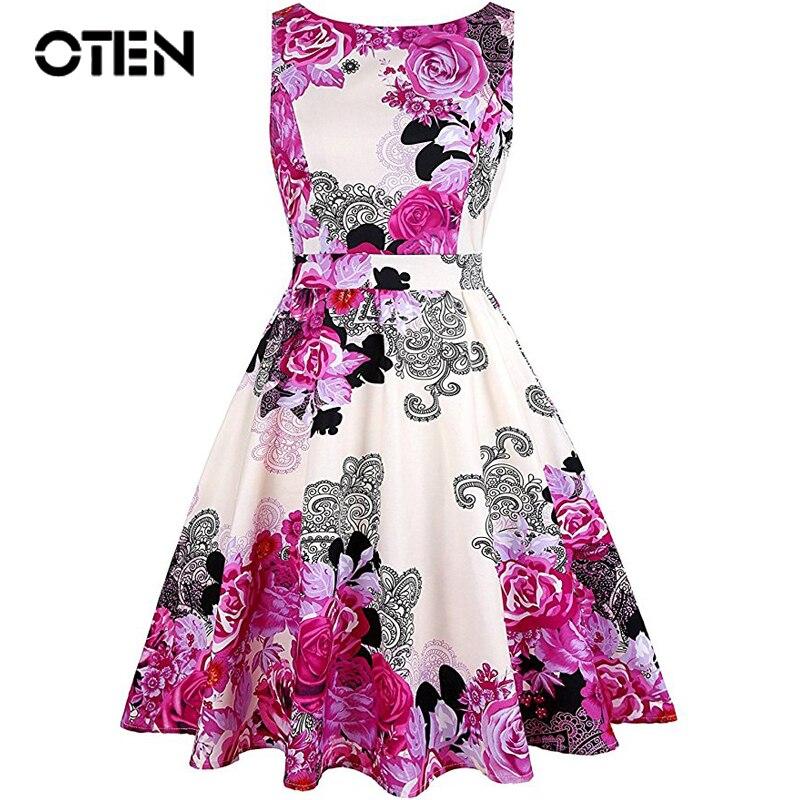 OTEN frauen kleidung lässig sommer elegante damen sleeveless ...